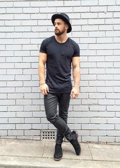 bangarangblog — blackout shop: boots jeans hat
