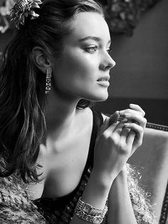 Chanel - Chanel Joaillerie 2014 ( featuring model, Monika Jagaciak )