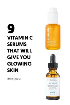 vitamin C serum: The best vitamin c serums for glowing skin Anti Aging Tips, Anti Aging Skin Care, Organic Skin Care, Natural Skin Care, Natural Face, Organic Baby, Natural Beauty, Fitness Apps, Best Vitamin C