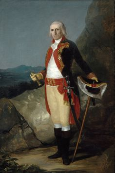 https://flic.kr/p/jrTEYw | General José de Urrutia | c. 1798. Oil on canvas. 199,5 x 134,5 cm. Museo Nacional del Prado, Madrid. P00736.