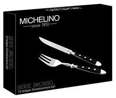JOLTA® / Michelino Steakbesteck aus Edelstahl für 6 Personen - http://besteckkaufen.com/jolta/jolta-michelino-steakbesteck-aus-edelstahl-fuer