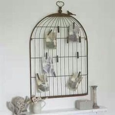 Bird cage with clips. Why didn't I buy 2?