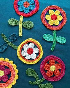 Midsummer Flora Festival starts now! #midsummer #colourful #crochet #flowercrochet #flora #floral #retrostyle #retroflowers #flowers #crocheterofinstagram #instacrochet #hyvääjuhannusta