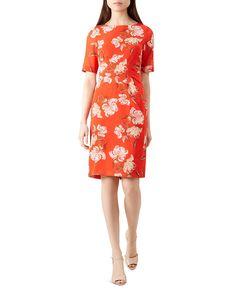 c2add50c0ca1 HOBBS LONDON Stellie Floral Print Sheath Dress Women - Bloomingdale s