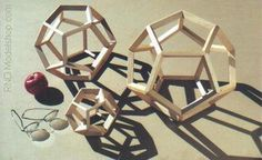 Wood Dodecahedron  Models by ~RND Modelshop, via Flickr