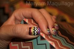 missoni nails by maryam maquillage