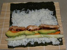 Sushi teriyaki chicken @ home | Expat Gourmand