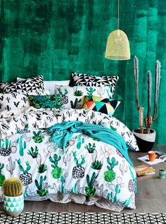 Vert émeraude en tête de lit très  beau