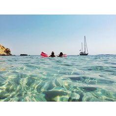 Platsa ploutsa ⛵️ #sealife #summer #relax #photooftheday #forevervacation #travel #alwaysandforever