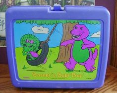 Barney-omg i had this! Now my baby is crazy about barney lol