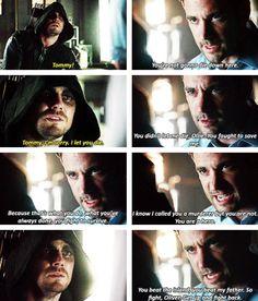 Arrow - Tommy & Oliver #2.9 #Season2