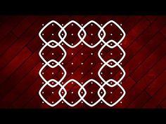 Easy 9 dots rangoli designs for beginners, Chukkala Muggulu, Easy Kolangal, Kolam, செவ்வாய் கோலம் - YouTube Rangoli Designs Flower, Muggulu Design, Rangoli With Dots, Traditional Styles, Drawings, Youtube, Easy, Sketches, Drawing