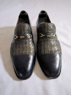 Not my typical style, but I like them.    Mens Italian Bespoke Shoes Sz 9 1/2 by FloridaFound on Etsy, $100.00