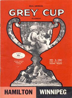 Winnipeg Blue Bombers, Cleveland Browns Football, Canadian Football League, Grey Cup, Cat Memorial, Tv Guide, Close Image, Embedded Image Permalink, Hamilton