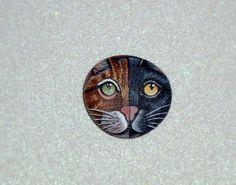 Personalizzato Ritratto - Ritratto di animali Custom, Custom quadro dipinto rocce vacanze personalizzare cane gatto regalo idee anello regolabile in argento fatti a mano