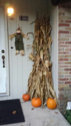 Fall decoration. Need to get some corn stocks