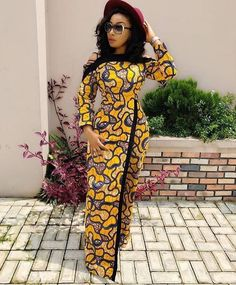 ✨Wrap skirt jumpsuit in ?✨Wrap skirt jumpsuit in African Fashion Ankara, Latest African Fashion Dresses, African Print Fashion, Long African Dresses, Africa Dress, African Traditional Dresses, African Attire, Ideias Fashion, Aso Ebi