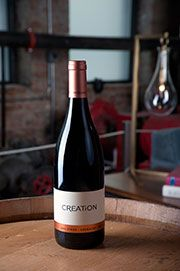 2010 Syrah-Genache by Creation Crane, Wines, Bottle, Blue, Flask, Jars