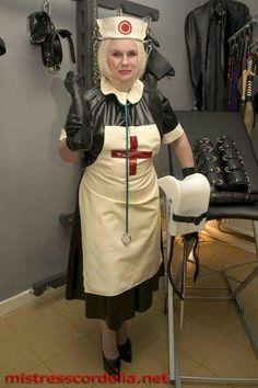 Rubber Nurse Mature 115