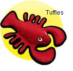 "Top 10 dog toys 4. Tuffies. Chewy, stuffed toys so durable, each one receives a toughness rating from the manufacturer. (VIP Products, $15-$30)  ""I'm always looking for stimulating, safe toys and Tuffies are so durable. My own dog, Logan — half Malamute, half terrorist — had a Tuffie lobster toy that lasted 11 months. It was rated a seven."""