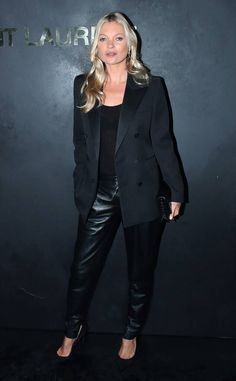 Kate Moss Zoe Kravitz, Karl Glusman, Tina Kunakey, Kate Moss Style, La Fashion Week, Bianca Jagger, Jourdan Dunn, Saint Laurent Paris, Eva Longoria