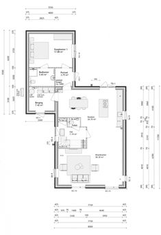 House Layout Plans, House Layouts, House Plans, Concept Board, Tiny House, Villa, New Homes, Floor Plans, Construction