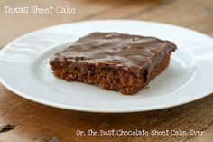 Texas Sheet Cake by Food Librarian, via Flickr