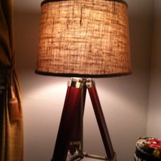 Nautical floor lamp. ellysgifts.com