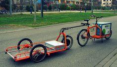 Carla Cargo Bicycle Trailer - orange - Cityride | Carla Cargo | Flickr