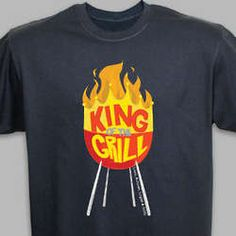 Perfect for the King of the Grill!