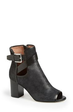 Donald J Pliner 'Greco' Peep Toe Bootie (Women) available at #Nordstrom