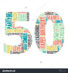 Word Cloud - Happy Birthday Celebration colorful wordclouds about. 40th Birthday Quotes, Happy Birthday Meme, Birthday Posts, 70th Birthday Gifts, Happy Birthday Sister, Happy Birthday Images, Birthday Greetings, Birthday Wishes, Birthday Cards