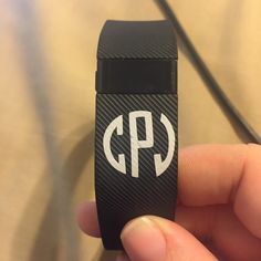 FitBit Charge or Flex Monogram by PalmettoPersonal on Etsy https://www.etsy.com/listing/261772468/fitbit-charge-or-flex-monogram