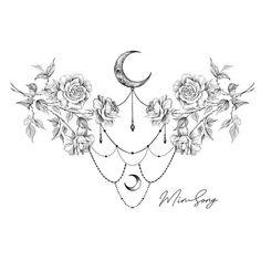small lower back tattoos tattoos vorlage Tattoo Sketches, Tattoo Drawings, Body Art Tattoos, Small Tattoos, Tatoos, Spine Tattoos, Unique Tattoos, Lotus Tattoo Design, Moon Tattoo Designs