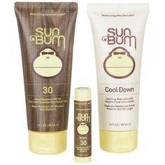 Sun Bum Premium Day Tripper Travel-Sized Sun Care Pack, SPF 30,... ($18) ❤ liked on Polyvore featuring beauty products, bath & body products and sun care