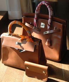 32 Natural Barenia HAC PH Tan Bag, Hermes Handbags, Camel, Hermes Birkin, 7ae79d078d