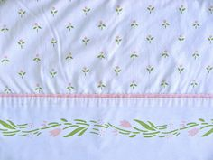 Vintage Laura Ashley Sheet. by thought & found / Sheila, via Flickr