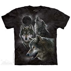 Eclipse Wolves T-Shirt $22.00 Use code: NWC15 for 15% off.  The Mountain T-shirts.