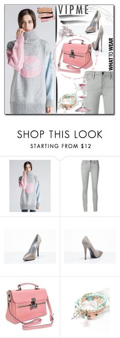 """""""VIPme 7/1."""" by esma178 ❤ liked on Polyvore featuring Frame Denim, women's clothing, women, female, woman, misses, juniors and vipme"""