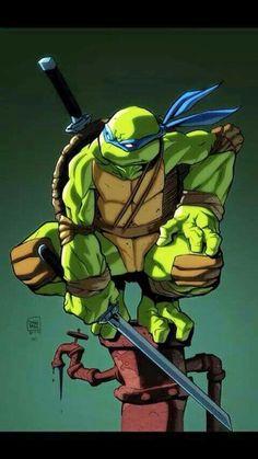 How To Draw People - Cartoon And Realistic - Drawing On Demand Teenage Ninja Turtles, Ninja Turtles Art, Tmnt Comics, Bd Comics, Tattoo Ninja, Leonardo Tmnt, Leonardo Turtle, Turtles Forever, Drawing Cartoon Characters