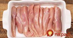 Výborné jedlo z kuracích pŕs z jednej zapekacej misy. Zabudnite na vysušené kuracie mäso vyprážané na oleji a vyskúšajte pochúťku, ktorej sa nebudete vedieť dojesť.