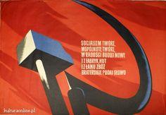 Plakat PRL