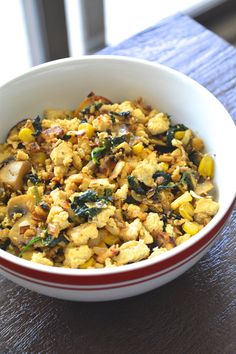 moroccan tofu scramble