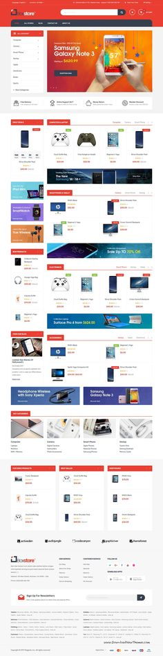Buy Javenist - Multipurpose eCommerce WordPress Theme by Plaza-Themes on ThemeForest. With an elegant and modern style, Javenist WordPress Theme has all things you need and bring your customers a fresh a. Bootstrap Template, Html Templates, Wordpress Template, Wordpress Theme, Amazing Website Designs, Modern Design, Web Design, Google Web Font, Construction Tools