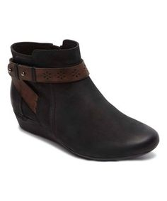 Black Joy Ankle Boot
