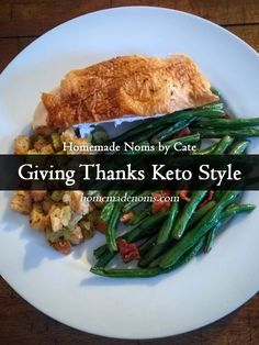 Thanksgiving is pretty much the same around here since going low carb. We celebrate our harvest (feeding and watering a kid is tough work!) and we give thanks for the good things, big and small, that made it all worthwhile. The only difference is the menu.