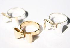Åh så söta! Silver och guldrosetter Bling, Beautiful, Jewel