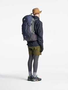 Karrimor 2016 Spring & Summer #Styles Mens Outdoor Fashion, Mens Outdoor Clothing, Outdoor Men, Mens Fashion, Summer Hiking Outfit, Hiking Dress, Trekking Outfit, Backpack Outfit, Hiking Fashion