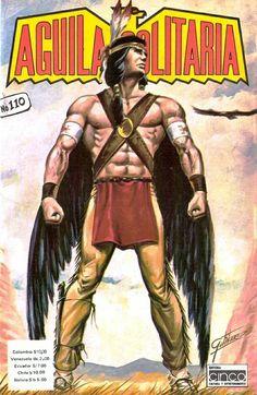 Aguila solitaria del creador de Kaliman