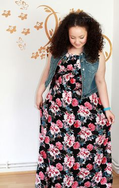 In Fat Style - PlusSize Modeblog Dress by New Look Inspire Vest by Forever 21